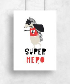 plakat super hero