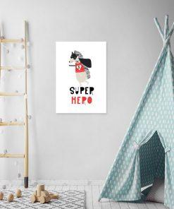 superbohater na plakacie