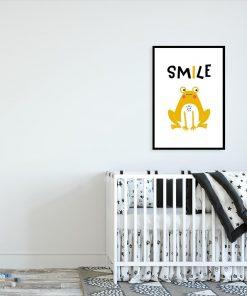 plakat z napisem smile