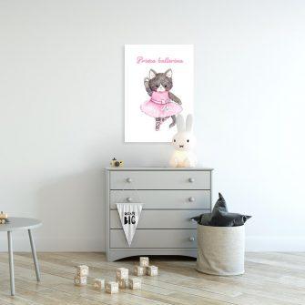 baletnica na plakacie