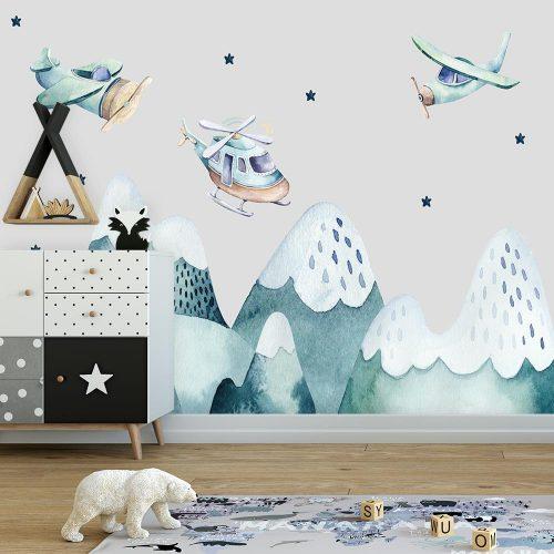 tapeta z górami na ścianę
