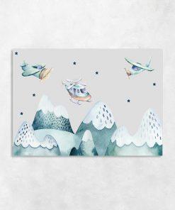 obraz z samolotami