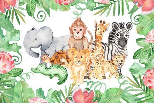 foto-tapeta ze zwierzętami