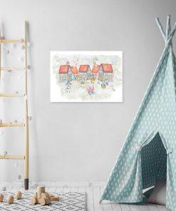 Obraz do pokoju dziecka - Myszki