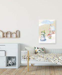 Obraz dla dziecka - Zimowa myszka
