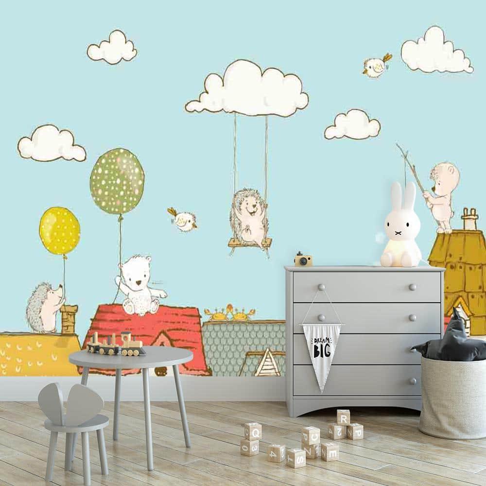 dekoracje chmurki i gwiazdki