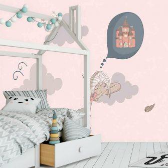 Fototapeta do pokoju dziecka - Sen