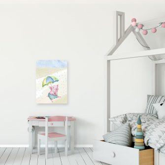Obraz dla dziecka ze świnką