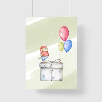 Plakat do pokoiku dziecięcego - Prezent