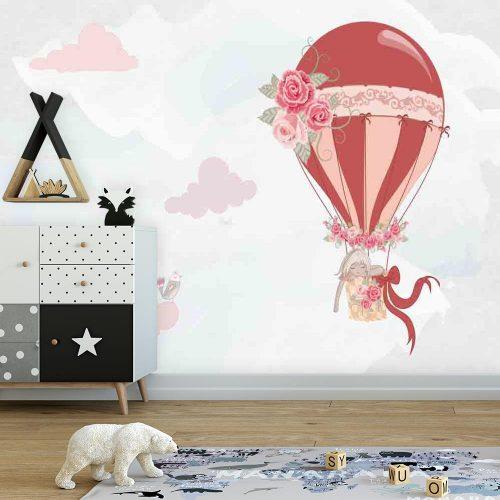 Fototapeta do pokoju dziecka z motywem balonu
