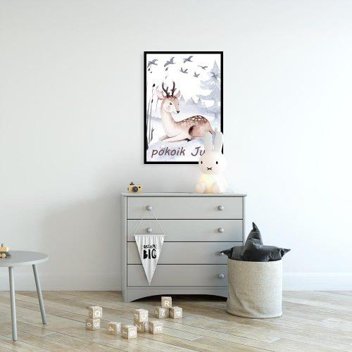 plakaty na drzwi do pokoju dziecka