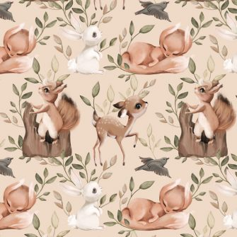 Tapeta dla dzieci - Wiewiórka