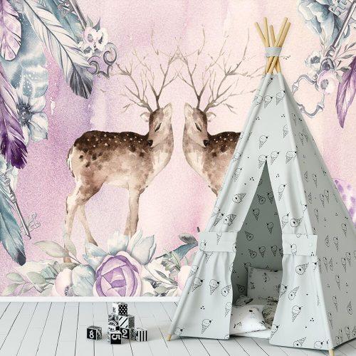 fototapeta z motywem jeleni
