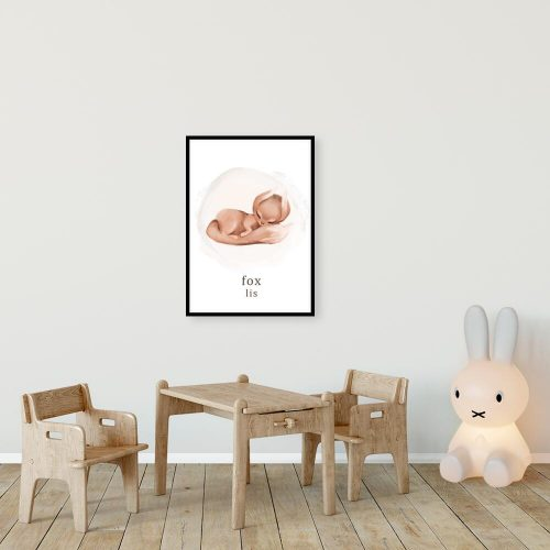 Plakat dla chłopca - Lis
