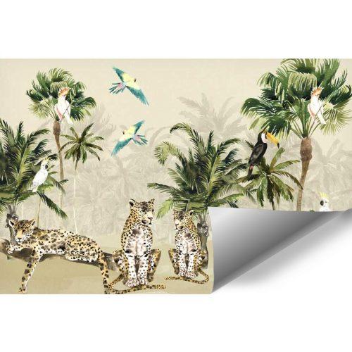 egzotyczna foto-tapeta dla dzieci