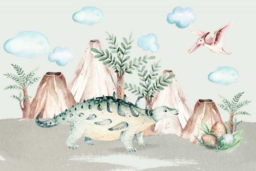 Dinozaury - Fototapeta dla dzieci