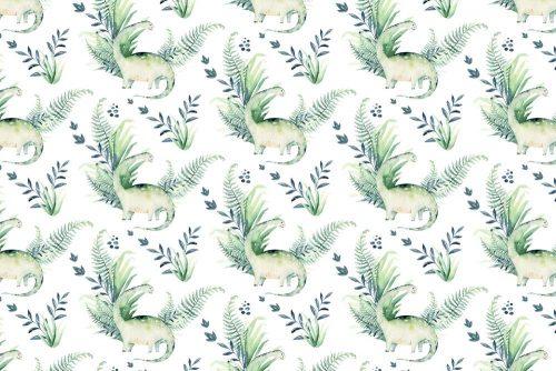 Fototapeta - Zielone dinozaury