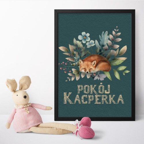 Plakat dla Kacperka do pokoju dziecięcego