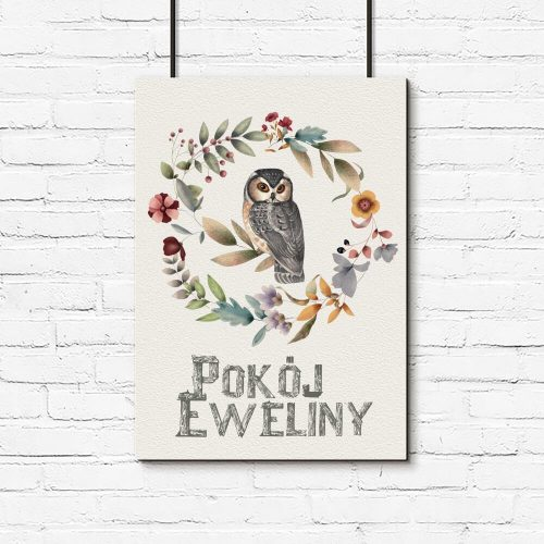 Plakat dla Eweliny