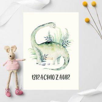 plakat zielone zwierzę