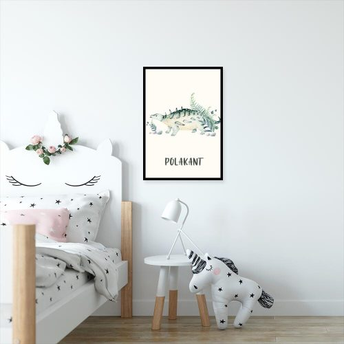 Dinozaur polakant - Plakat do pokoju dziecka