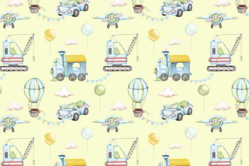 Foto-Tapeta w samolociki dla dzieci