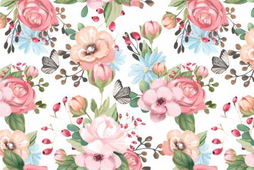 Motyle - Fototapeta dla dziewczynki