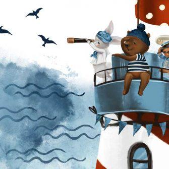Latarnia Morska - fototapeta dla dzieci