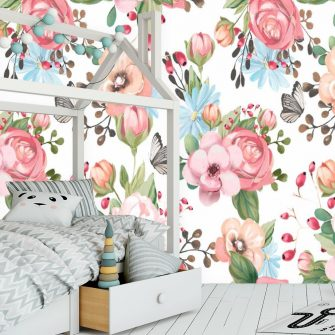 Motylki - Fototapeta do sypialni