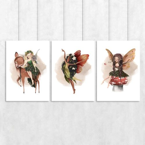 Plakaty z motywem trzech boginek