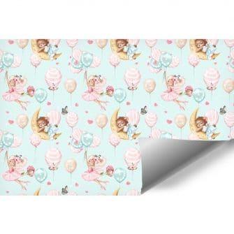Baloniki - Fototapeta dla niemowląt