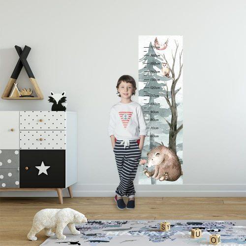 Miarka wzrostu dla dziecka - Miś