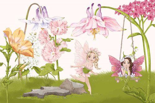 Foto-tapeta elfy kwiatowe