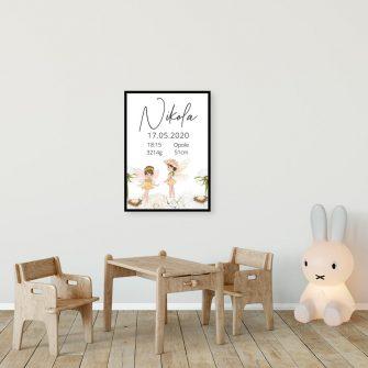 Plakat dla Nikoli - plakietka