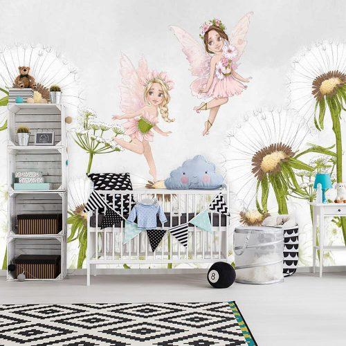Kolorowa dekoracja do pokoju dziewczynki