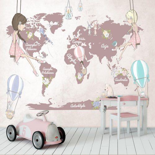 Kontynenty na tapecie
