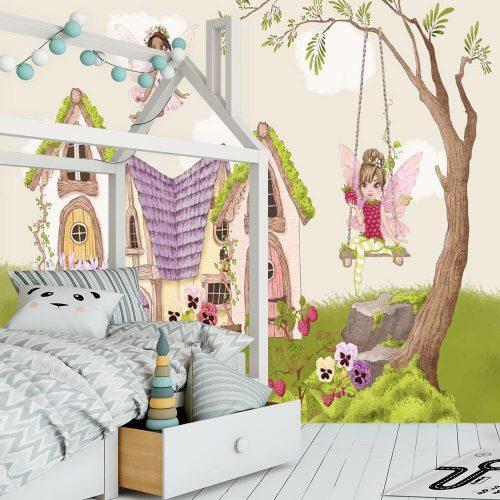 Fototapeta z bajkowymi postaciami dla dziewczynki