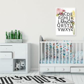 Plakat edukacyjny do pokoju dziewczynki - Wróżka
