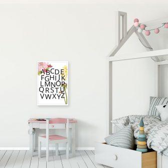 Plakat edukacyjny dla dziewczynki - Wróżka