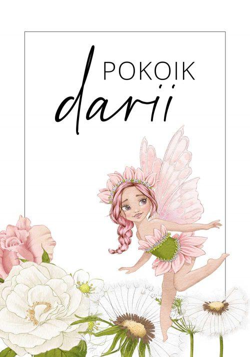 Plakat imienny dla dziewczynki