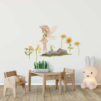 Kwiatowe wróżki - Zestaw naklejek dla dzieci