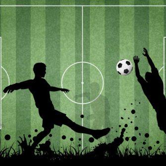 Fototapeta dla miłośnika piłki - Football