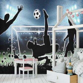 Fototapeta dla piłkarza na salę gimnastyczną